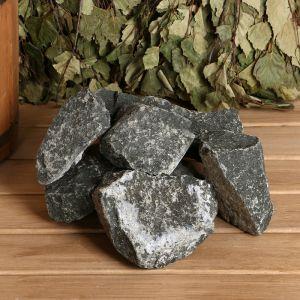 """Камень для бани """"Дунит"""", коробка 20 кг   1424854"""