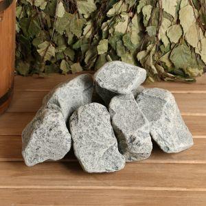 """Камень для бани """"Порфирит"""" галтованный, коробка 20кг 2496151"""