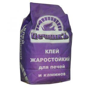 """Клей жаростойкий для бытовых печей и каминов """"Печникъ"""" 10кг 1963385"""
