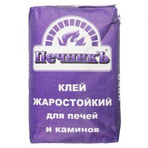 """Клей жаростойкий для печей и каминов """"Печникъ"""" 20,0 кг 1402054"""