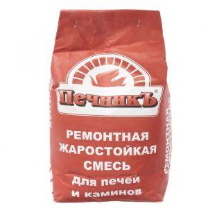 """Ремонтная жаростойкая смесь для печей и каминов """"Печникъ""""  10,0 кг 1422550"""