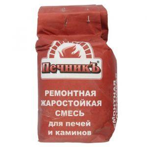 """Ремонтная жаростойкая смесь для печей и каминов """"Печникъ""""  3,0 кг 1402056"""