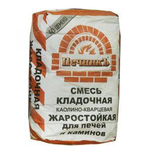 Смесь кладочная каолино - кварцевая жаростойкая 10 кг 1963383