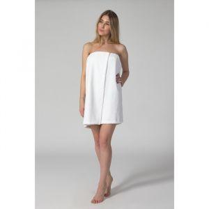 """Парео для сауны """"Этель"""", размер 68х150 см, цвет белый"""