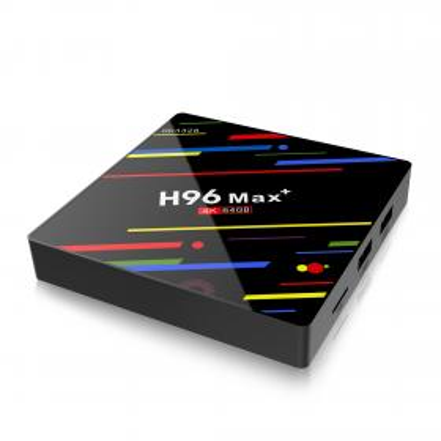 Смарт TV приставка H96 Max+ Андроид 9.0 4/64 Гб