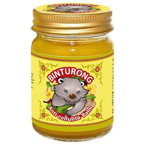 Бальзам желтый антицеллюлитный для тела с куркумой и имбирем | Anti-Сellulite Balm | 50 г | Binturong