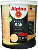 Лак для дерева Аlpina Аква 0.9л без Запаха для Внутренних и Наружных Работ, Бесцветный