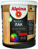 Лак на Водной Основе Alpina Аква Лак 0.9л для Стен и Потолков для Внутренних Работ без Запаха