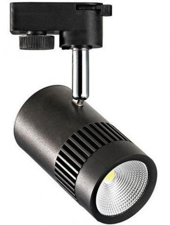 Трековый светодиодный светильник Horoz 8W 4200K черный