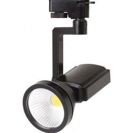 Трековый светодиодный светильник Horoz 7W 4200K черный