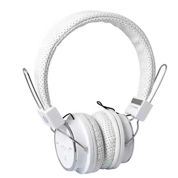 EZRA BW15 Белые наушники большие - гарнитура (Bluetooth)