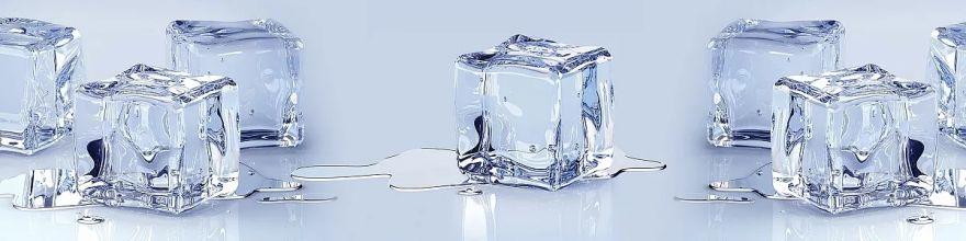 Фартук для кухни «Белый лед» Виват