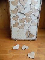Стенд для пожеланий на свадьбу из дерева малый