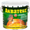 Антисептик Акватекс 0.8л Цветной для Внутренних и Наружных Работ