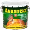 Антисептик Акватекс 10л Цветной для Внутренних и Наружных Работ
