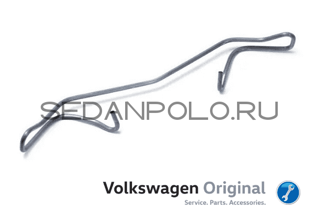 ПРУЖИНА СУППОРТА ОРИГИНАЛ VAG VOLKSWAGEN POLO SEDAN