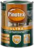 Декоративная Пропитка Pinotex Ultra 1л с Воском для Защиты Древесины до 10 лет / Пинотекс Ультра
