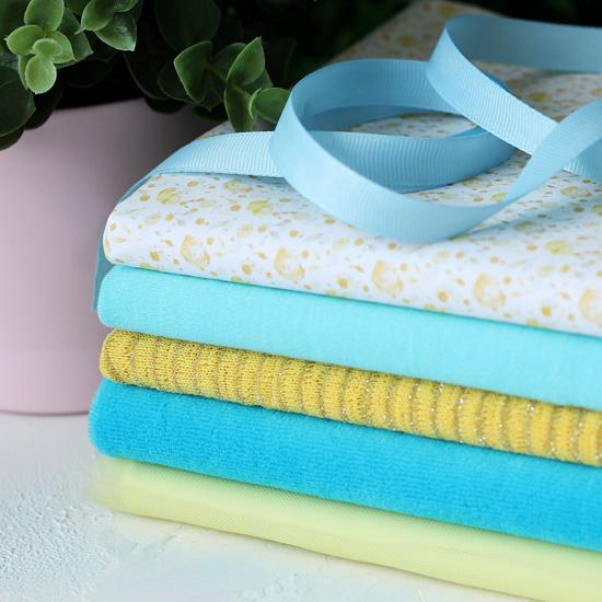 Набор тканей для пошива Летний день