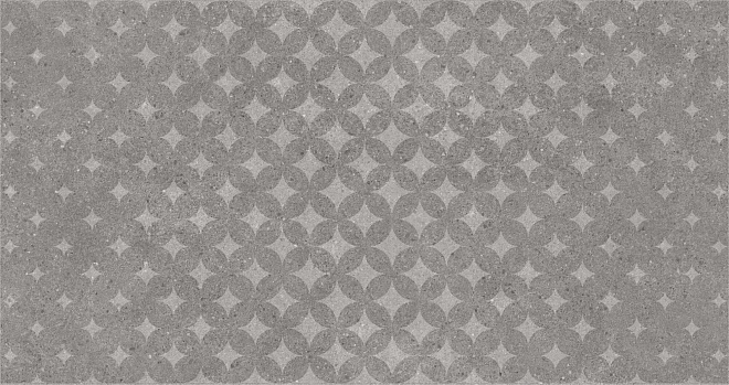 SBD026/DL5009 | Декор Фондамента серый орнамент