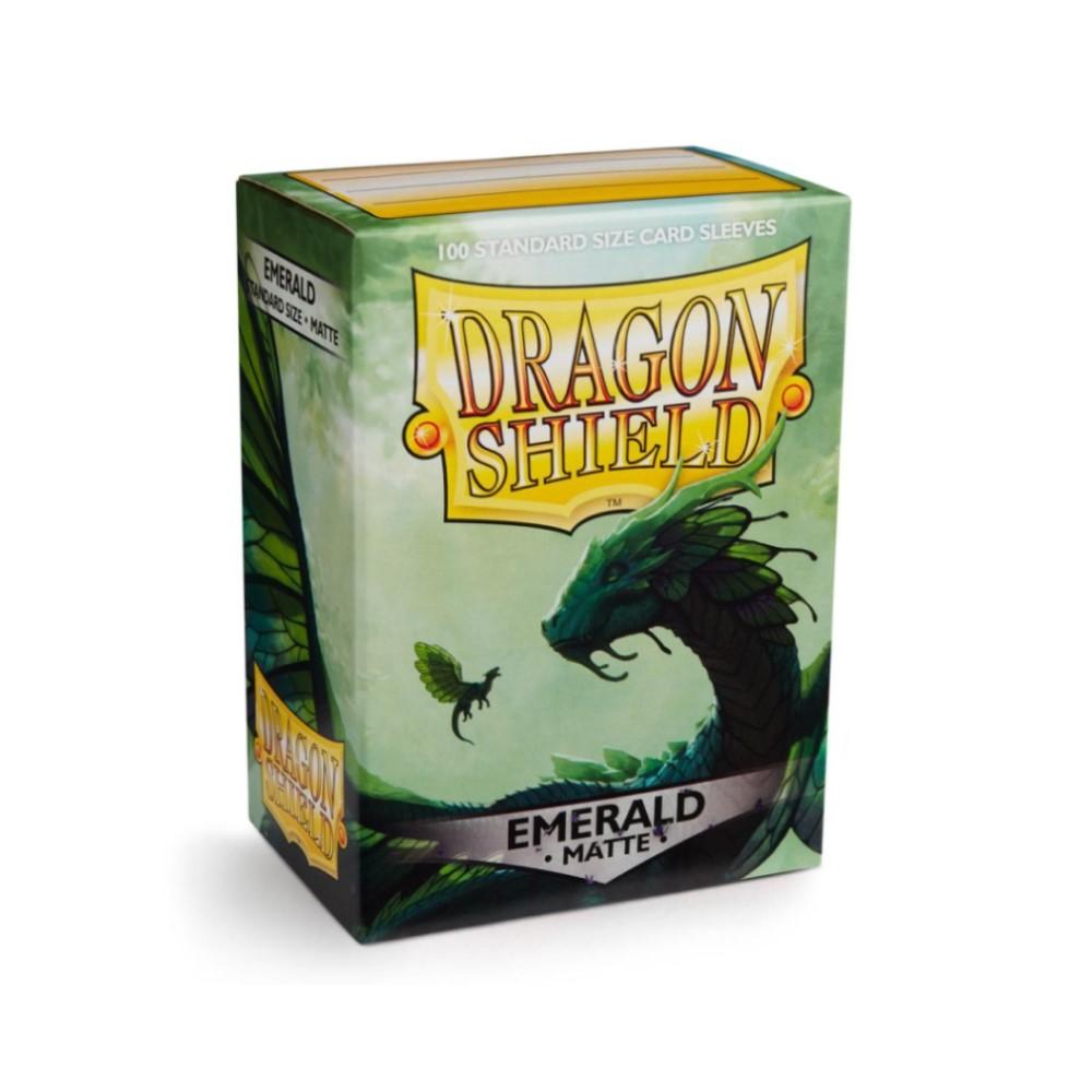 Протекторы Dragon Shield матовые изумрудные Rayalda (100 шт.)