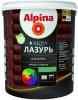 Лазурь для Дерева Alpina Аква Лазурь 0.9л без Запаха Универсальная для Внутренних и Наружных Работ