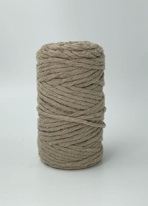 Хлопковый шпагат 4-5мм Цвет песочный