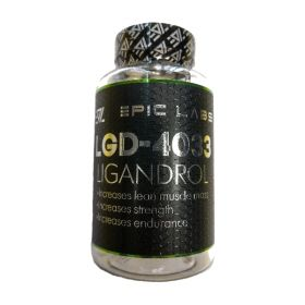 Epic Labs Ligandrol LGD-4033 60 caps (модулятор андрогенных рецепторов)