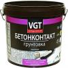 Грунт Бетонконтакт VGT ВД-АК-0301 Контактный 16кг под Штукатурку с Мраморной Крошкой, Белый / ВГТ Бетонконтакт
