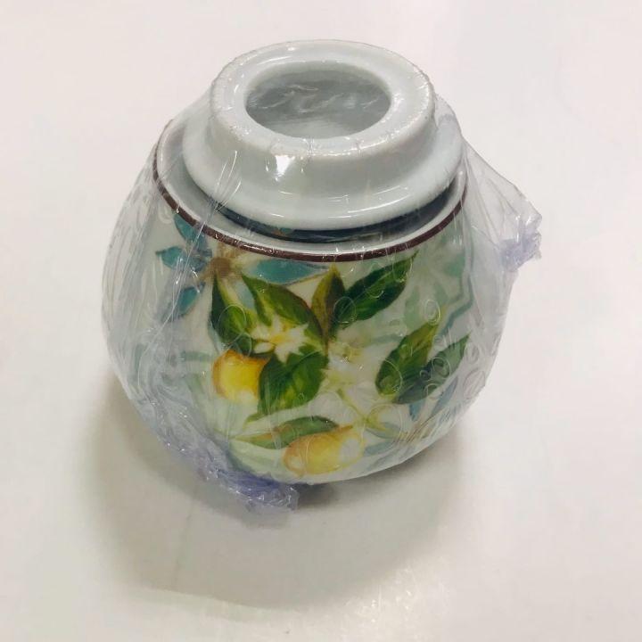 Сахарница 400мл ф.круг Лимон