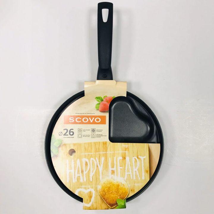 Сковорода Happy Heart 26
