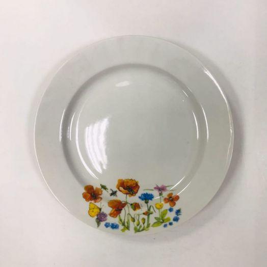 Тарелка 240мм мелкая ф.круг Цветущий луг