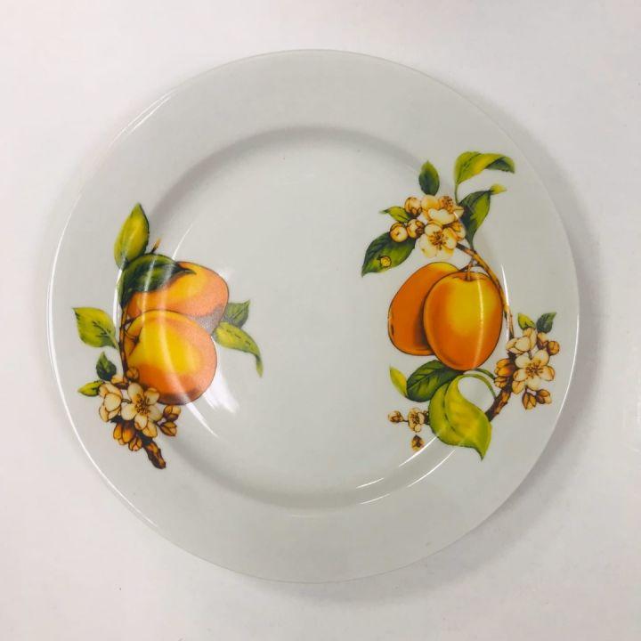 Тарелка д/горячего Абрикосы 24см