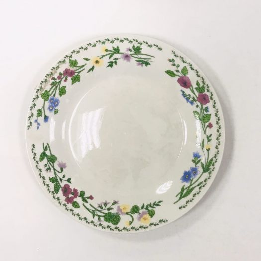 Тарелка десертная 20см Полевые цветы