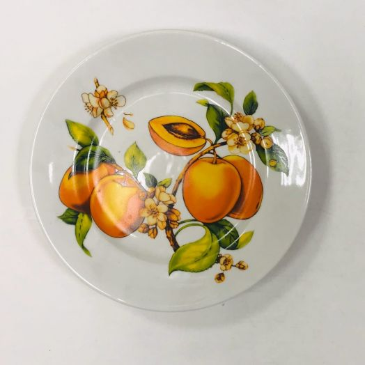 Тарелка десертная Абрикосы 20см
