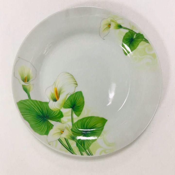Тарелка обеденная 7 23см Цветок