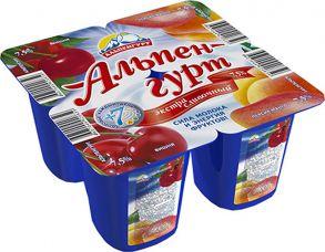 """Альпенгурт"" йогурт 1уп/4шт"