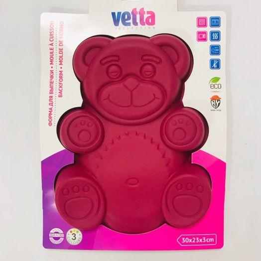 Форма силиконовая VETTA Медвежонок 30х23х3см