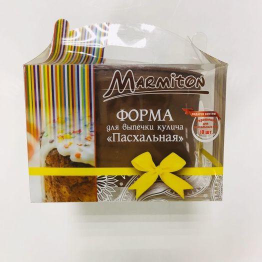 """Форма силиконовая Пасхальная для кулича """"MARMITON""""16125"""