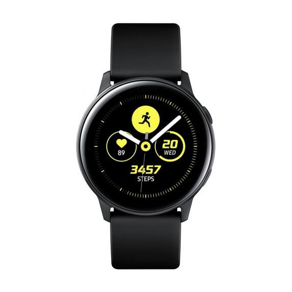 Galaxy Watch Active (черный сатин)