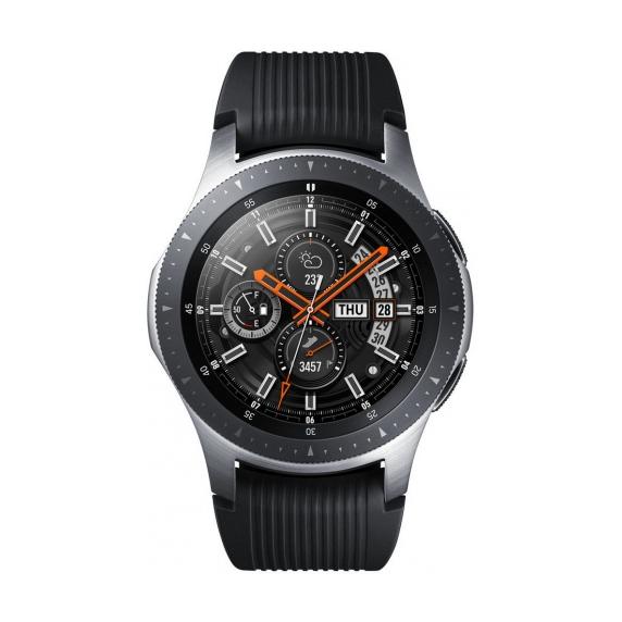 Galaxy Watch 46 мм (серебристая сталь)