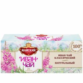 Чай Майский Иван-чай классический 25пак*1.5г