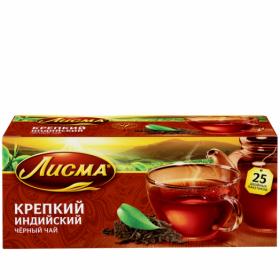 Чай Лисма крепкий с/я 25пак