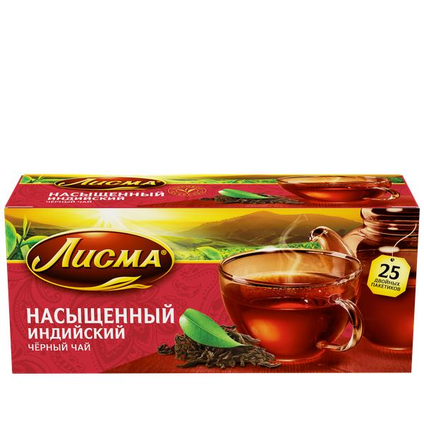 Чай Лисма насыщенный с/я 25пак