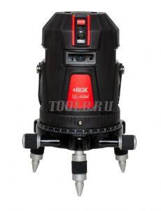 RGK UL-44W Black - лазерный нивелир