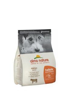 Корм сухой Almo Nature для взрослых собак малых пород с говядиной 400гр