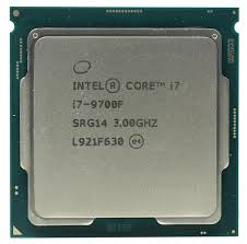 CPU Intel Core i7 9700F