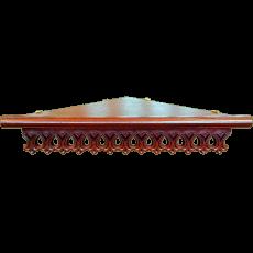 Угловая ажурная полка для икон