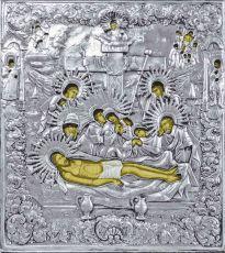 Икона Положение во гроб Иисуса Христа