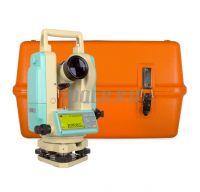 RGK T-02 электронный теодолит с лазерным целеуказателем фото