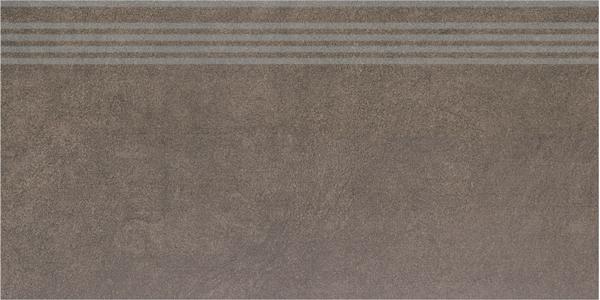 SG614900R/GR   Ступень Королевская дорога коричневый обрезной
